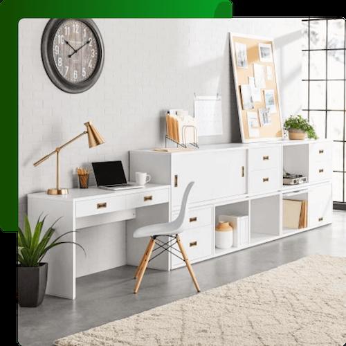 Walmart Better Homes & Gardens Office Furniture Collection