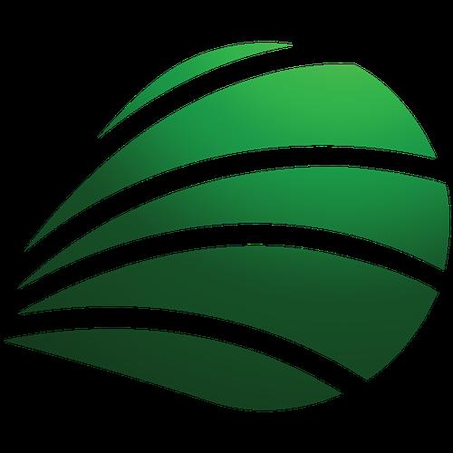 ReachOrb's green orb logo