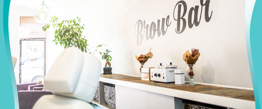 visit our customized brow bar