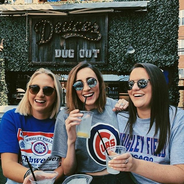 Baseball season isn't over quite yet. Cheer on the Cubs as they swing it out with the Cards one more time! #DeucesMLB 📸: @megbrennnan