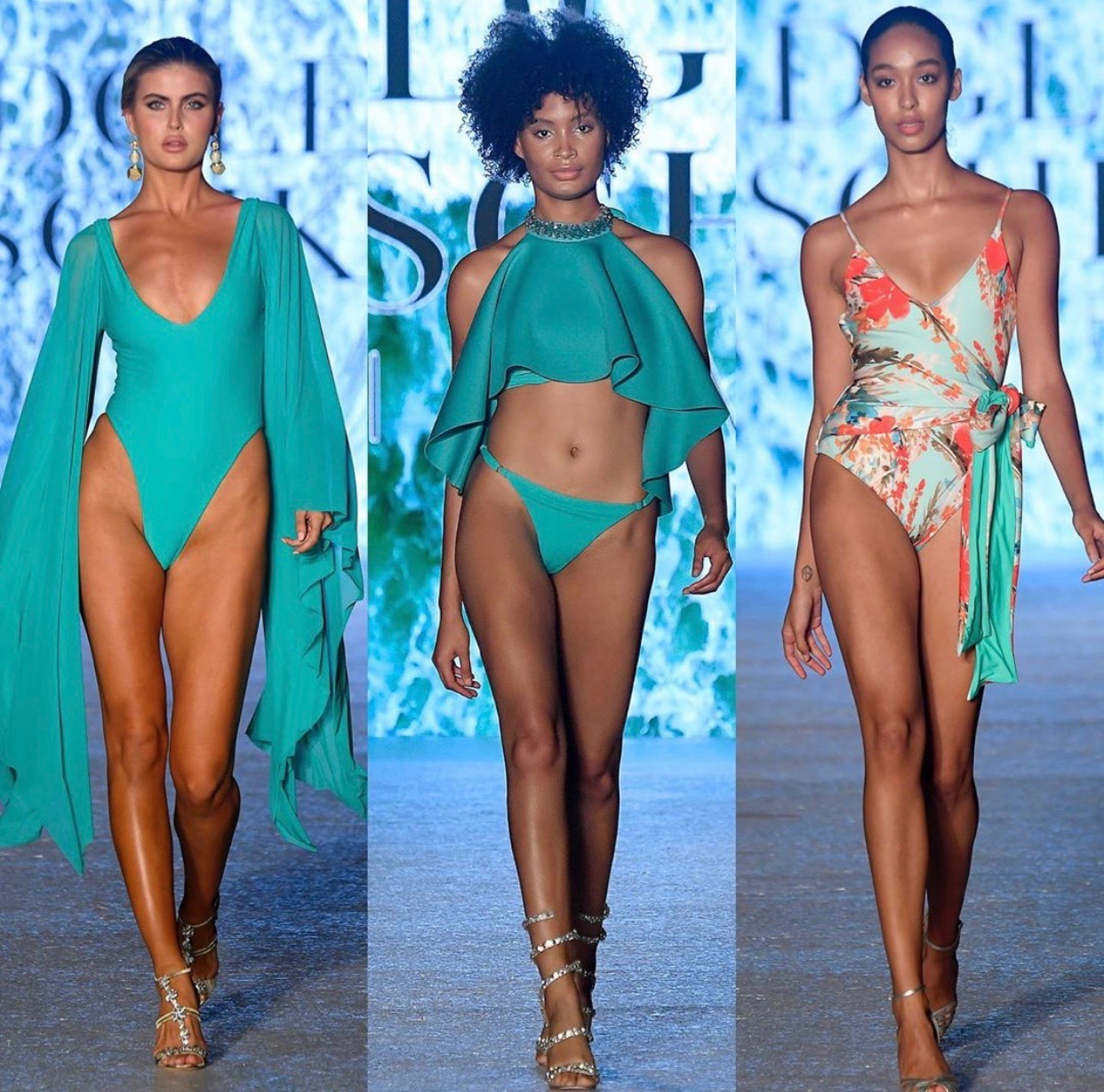 Badgley Mischka 2020 Swimwear Collection - Badgley Mischka Instagram