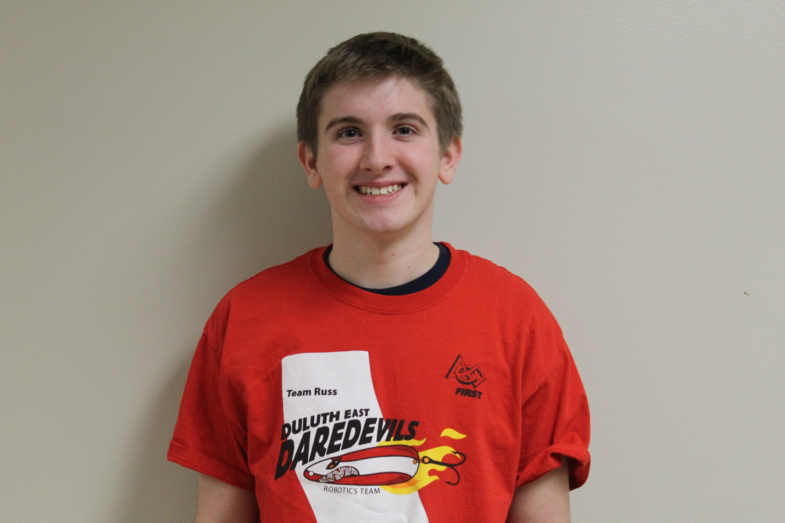 Daniel n. - Daniel is a sophmoreat East, and this is his second year on the team. He loves the show