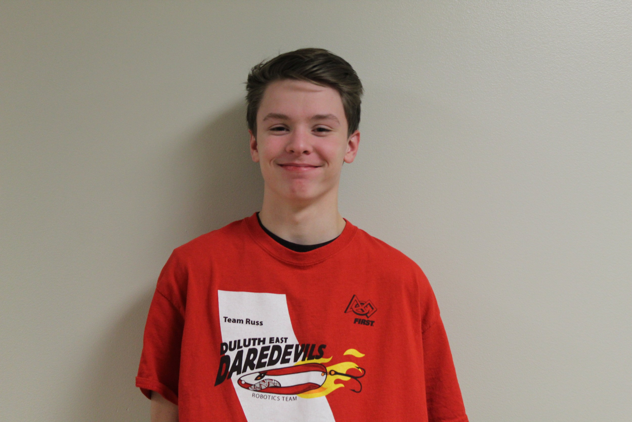 Graham s. - Graham is a freshman at Duluth East High School, and this is his first year on the team. He joined the team because he wanted to gain more experiences that he could use in later points of his life. In his free time, he enjoys to