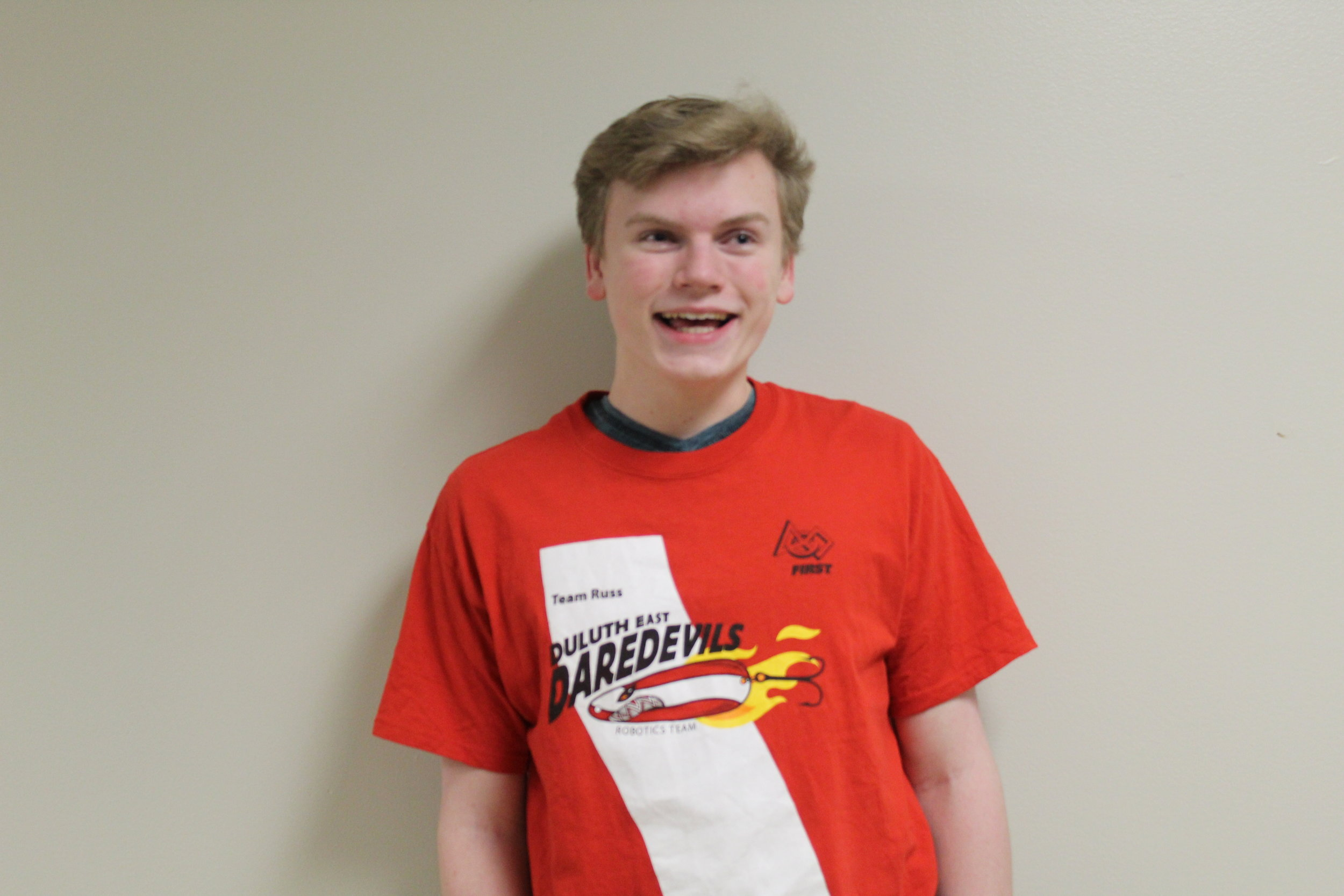 anders s-b. - Anders is a junior that joined the team this year and is part of the CAD department. He joined the team because he thought his skills should be put to good use. He plans on going to LSC for his generals — from there, the sky's the limit.