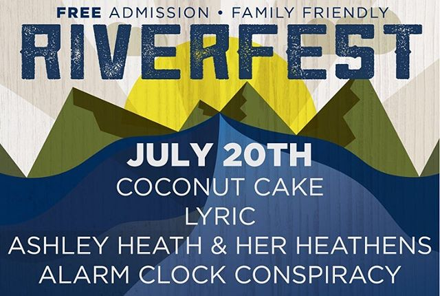 This Saturday 7/20 will be the highly anticipated River Fest @newbelgium_avl from 1-8pm and the Anything that FloatsParade from 9am-2pm. These events are free and family friendly. Enjoy live music, local beer, food trucks and more!