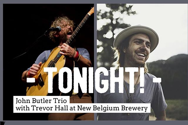 Tonight - across from our @navihous units there is a Concert featuring the John Butler Trio with Trevor Hall. This is a part of a Summer Concert series by @newbelgium_avl #lovesummer