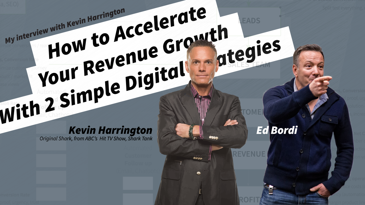 I recently sat down with Kevin Harrington, from ABC's hit TV show, Shark Tank. We talked about the importance of a Digital Transformation  for all companies,  how technology enables a more focused marketing approach, and a better way to increase trust, authority and branding.   Watch it now  .