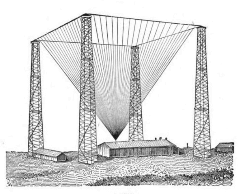 Marconi Wireless Station Drawing- contact Ira Wood