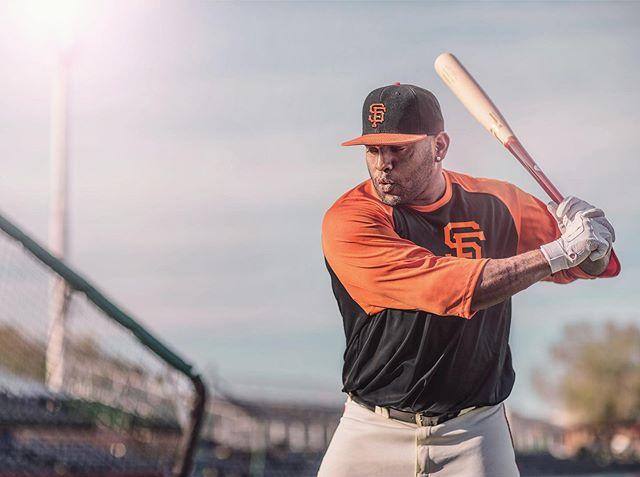 """Kung Fu Panda"" Pablo Sandoval @kfp48 of the @sfgiants shot for @tuccilumberbats w/ @wishbonedesignfactory ⚾️ #sports #baseball #mlb #wood #bats #sportsphotography"