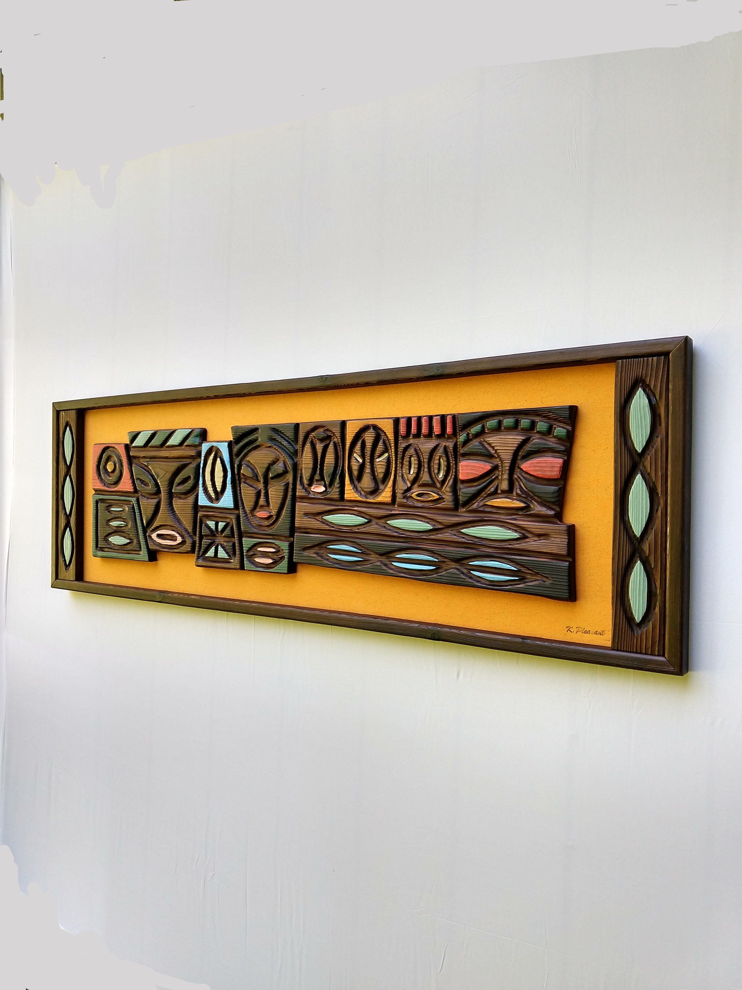 Tiki Panels and plaques -