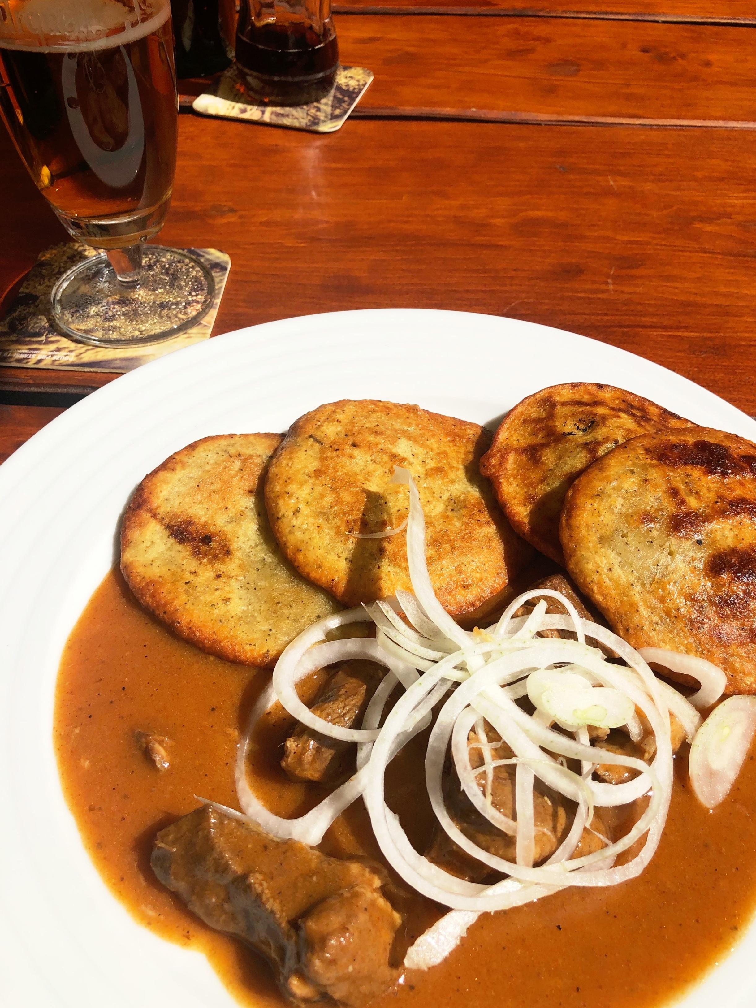 My first Czech meal.