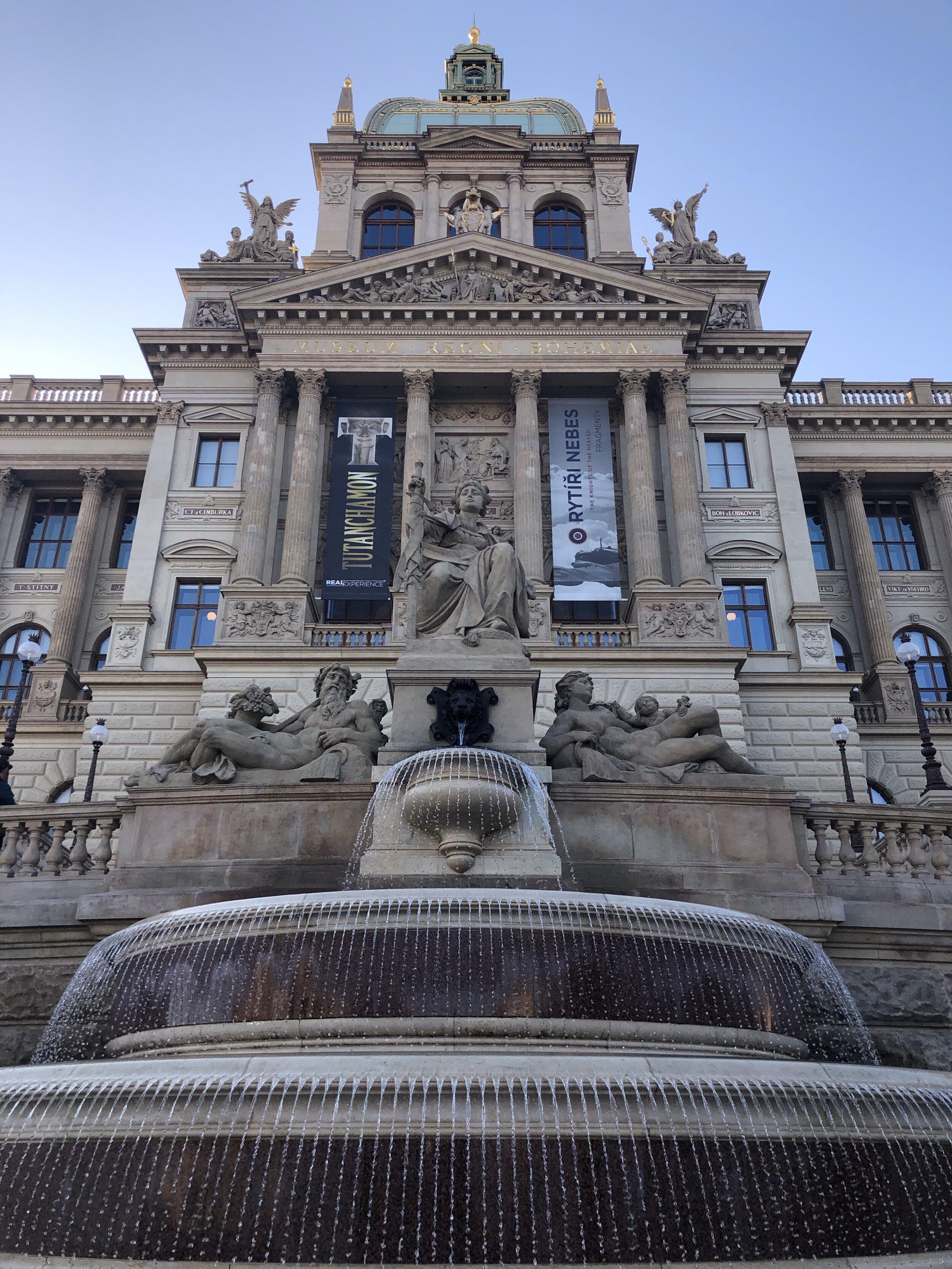 Praha Národní muzeum.