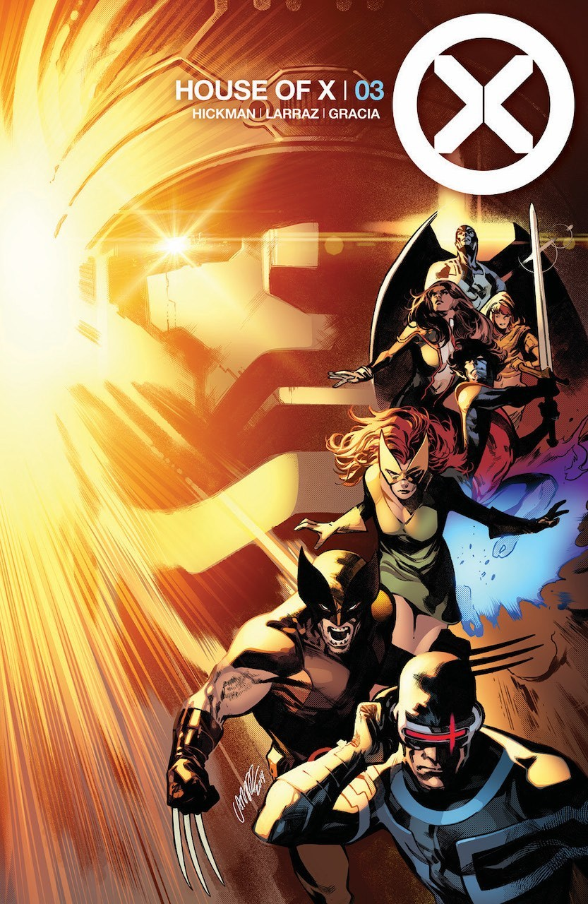 House of X #3 Cover