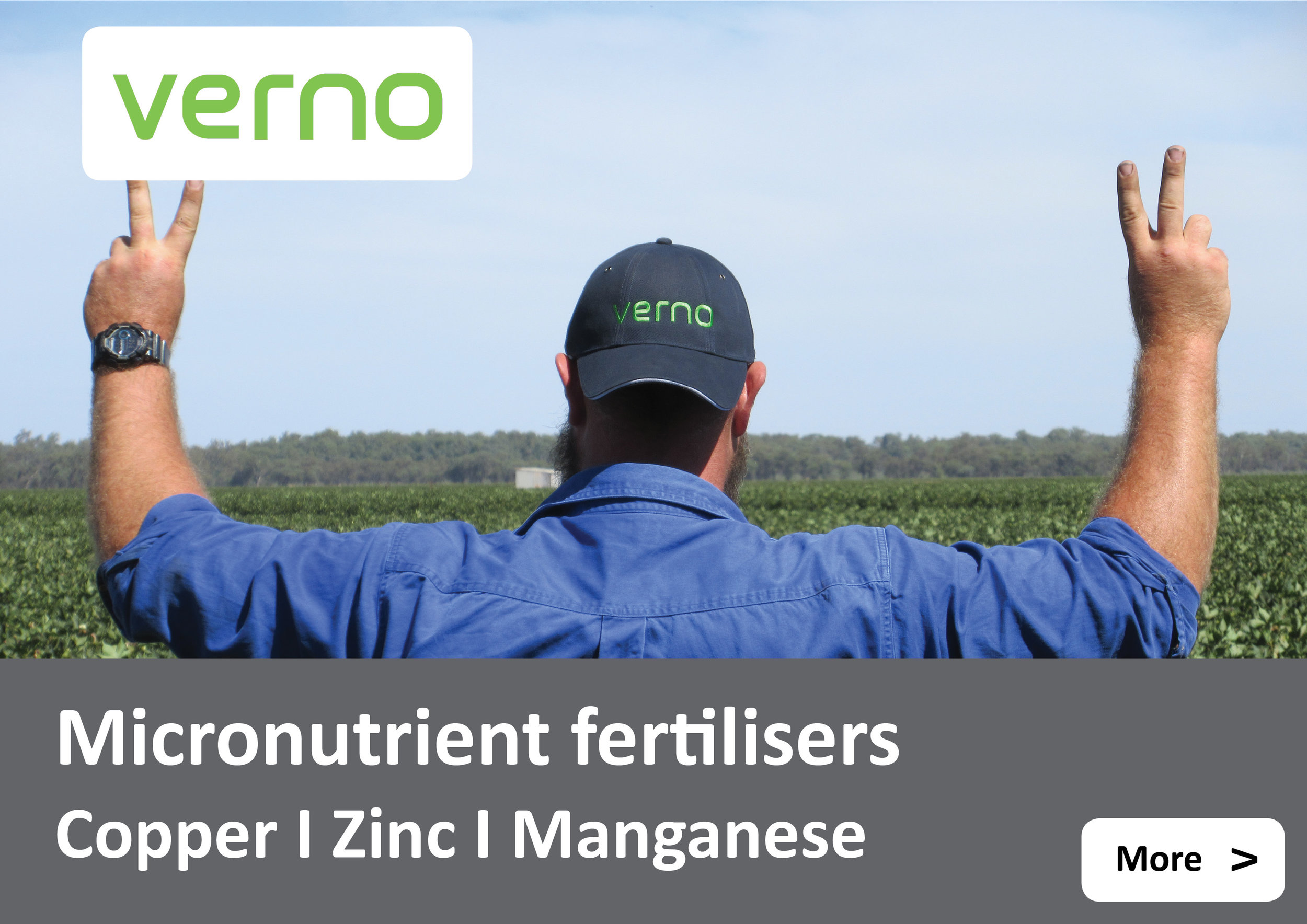 Verno micronutrients - copper, zinc, manganese