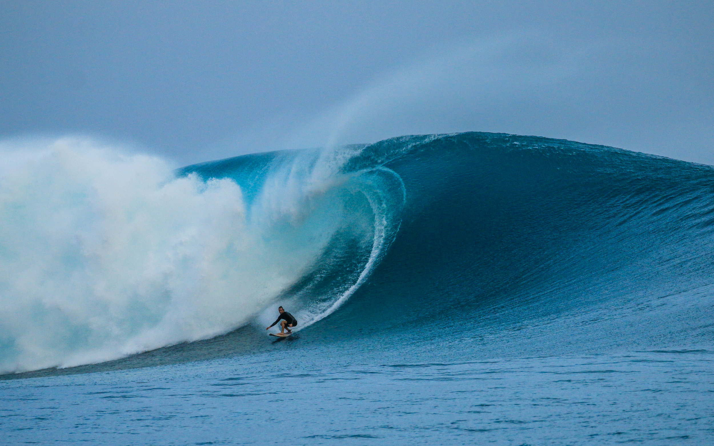 """Grant """"Twiggy"""" Baker on a rarely surfed left"""