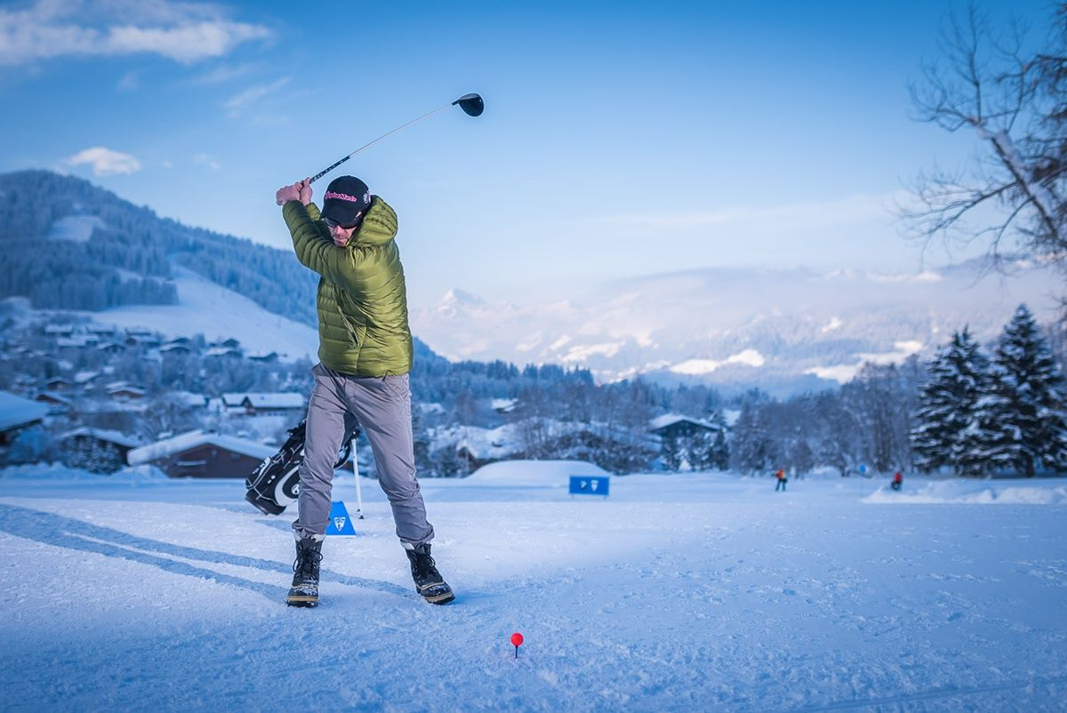 Golf sur neige