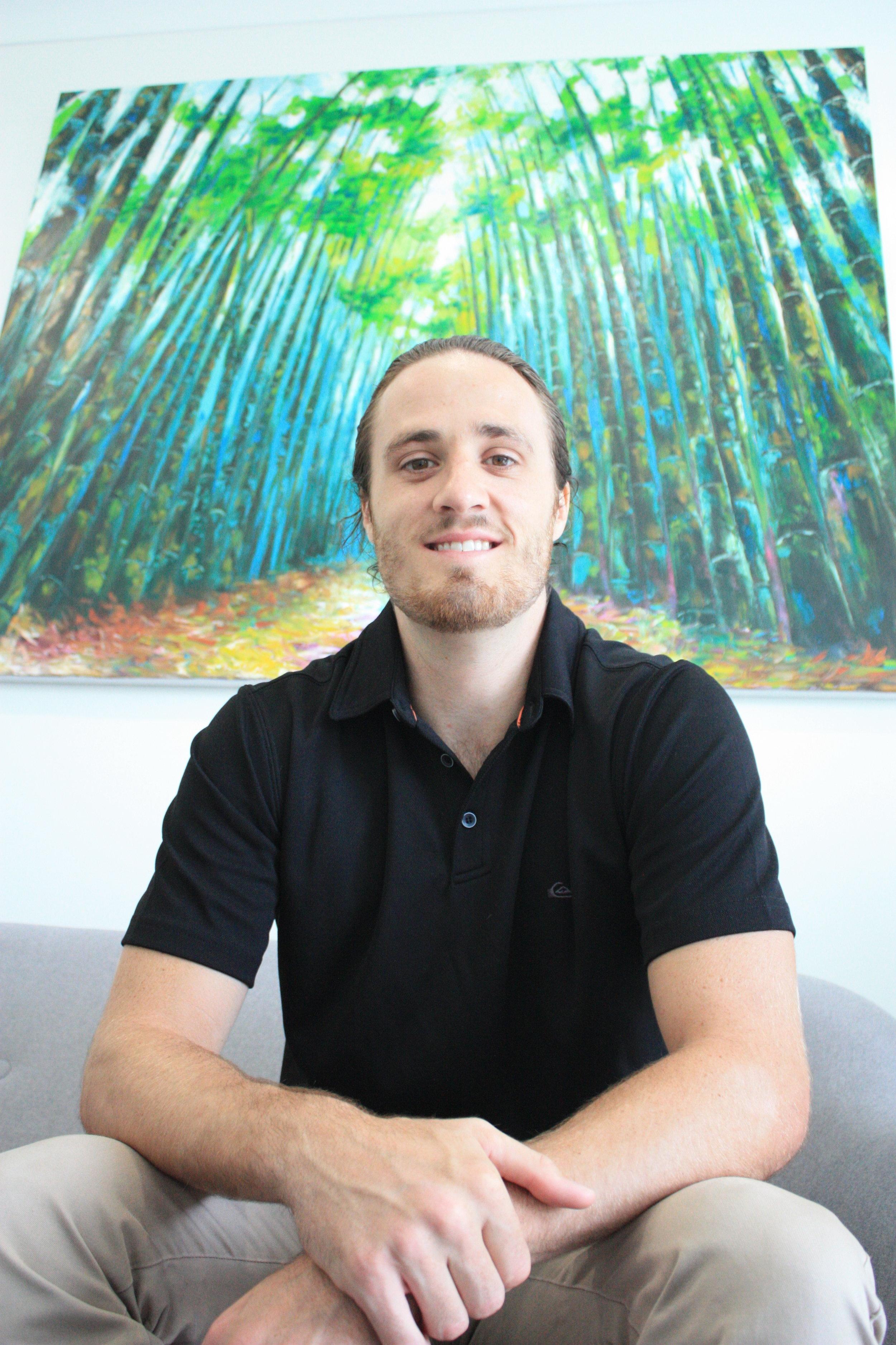 Picture of Adam Hjort acupuncturist.