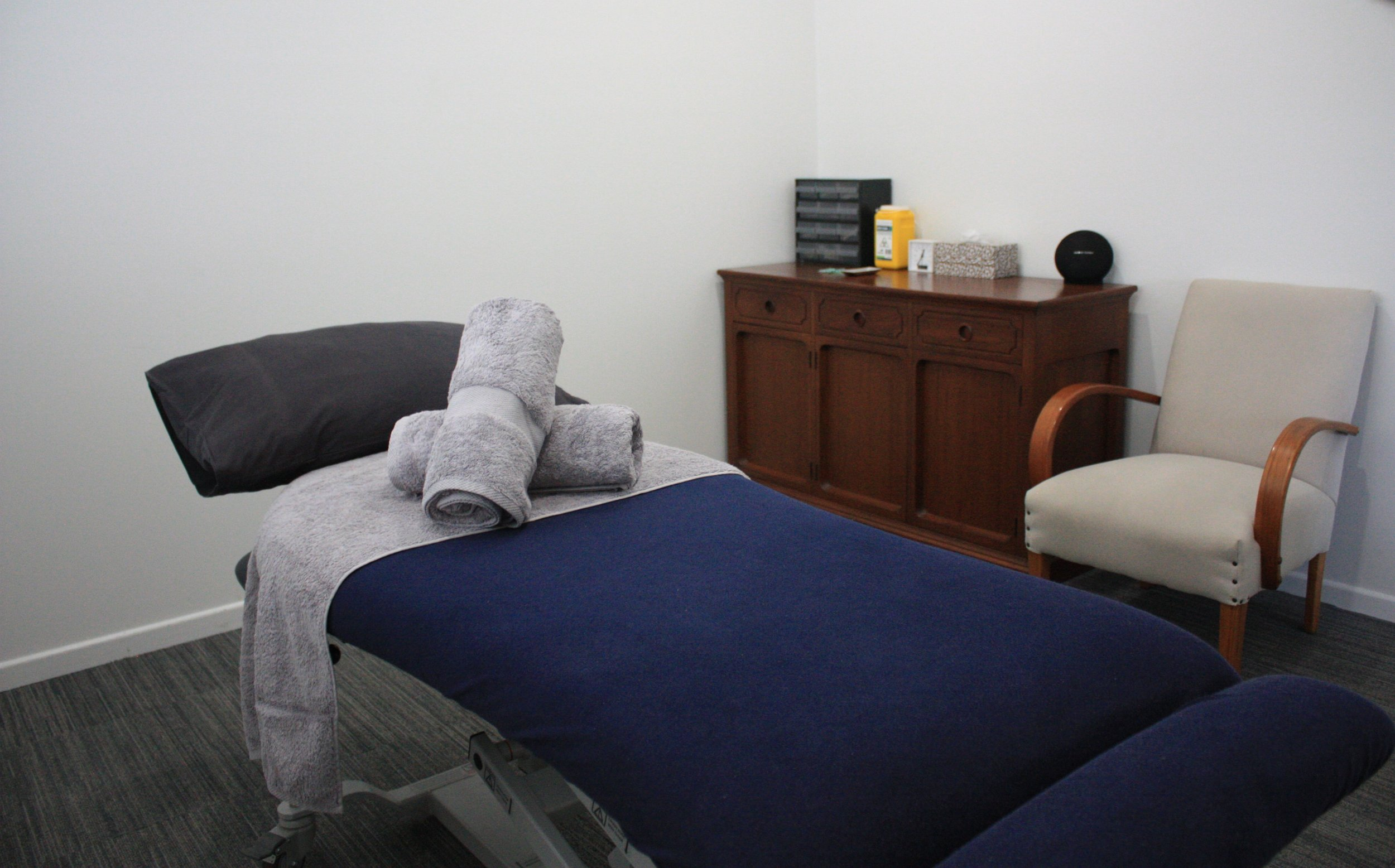 Room 1 at our Gold Coast acupuncture clinic.