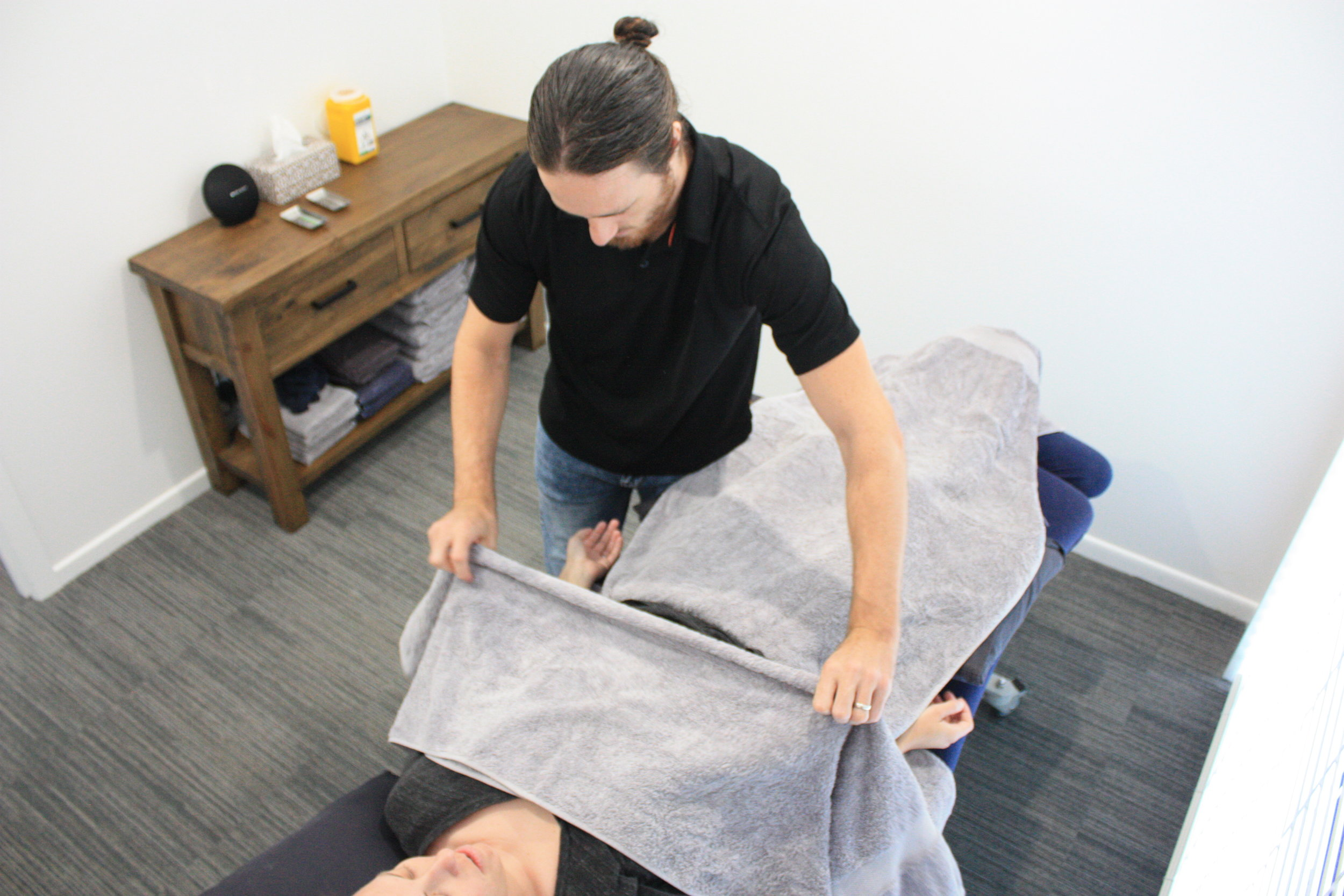 Room 2 at our Gold Coast acupuncture clinic.