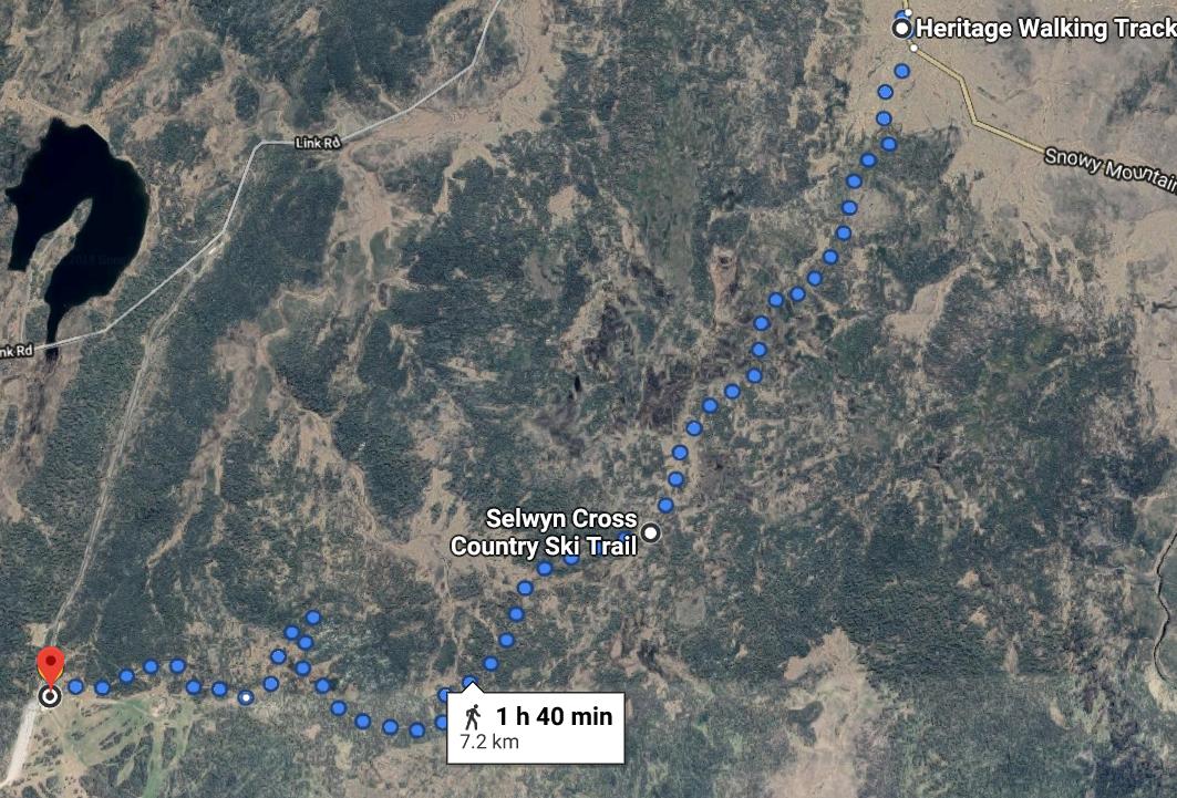 2 Kiandra to Selwyn 7kms