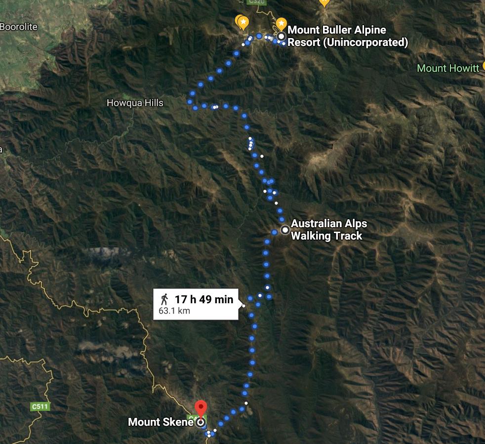 14 Buller to Skenes 60kms