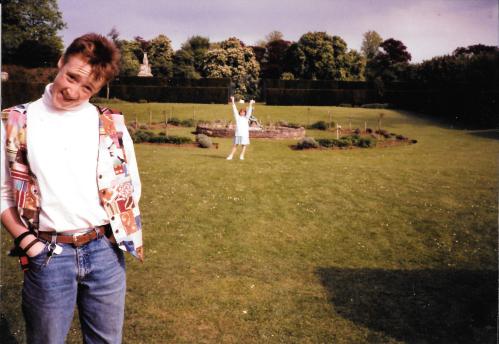 Iain & Zoe - venue site visit - circa 1992