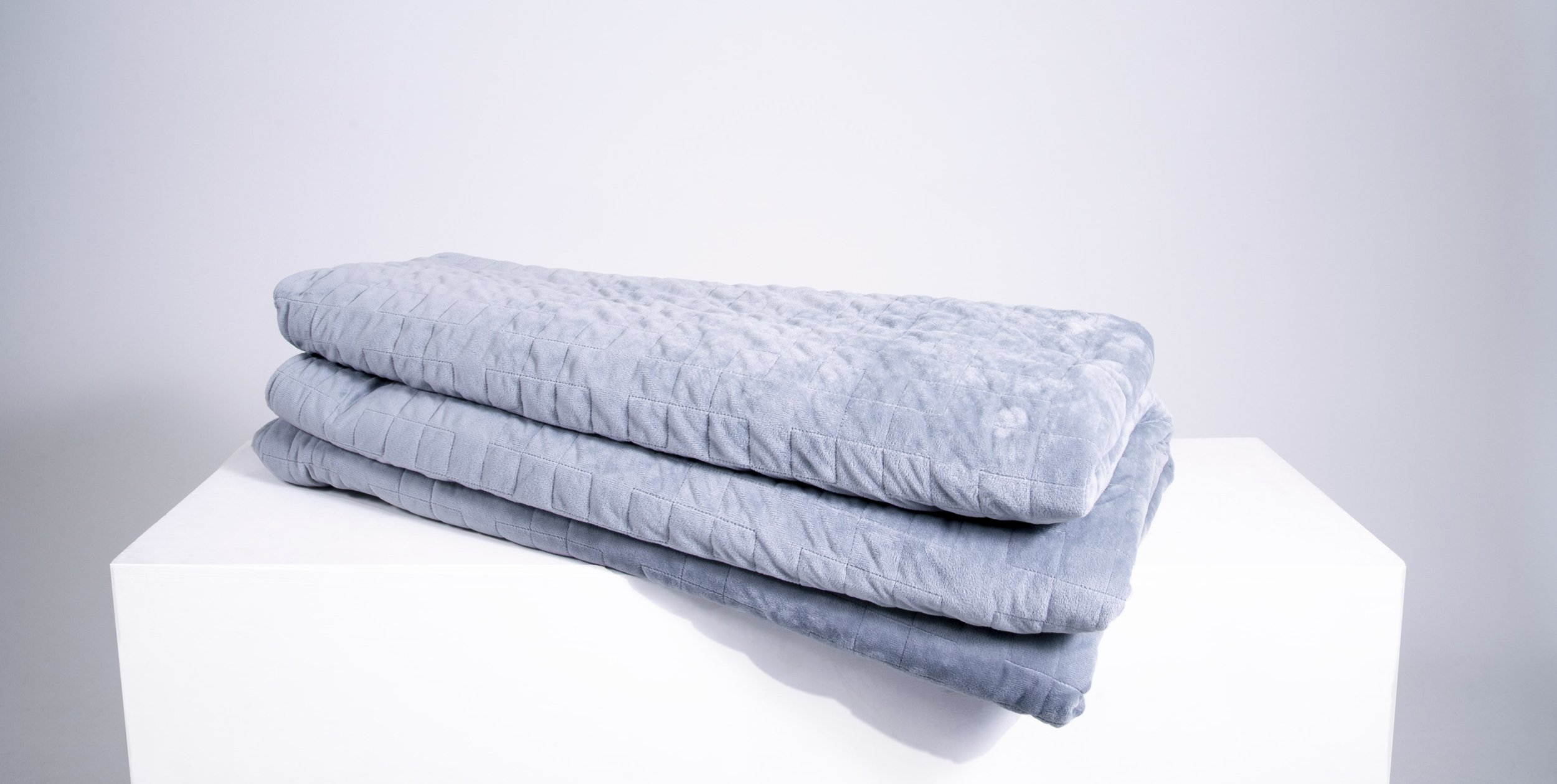 Qalm Weighted Blanket Space Grey
