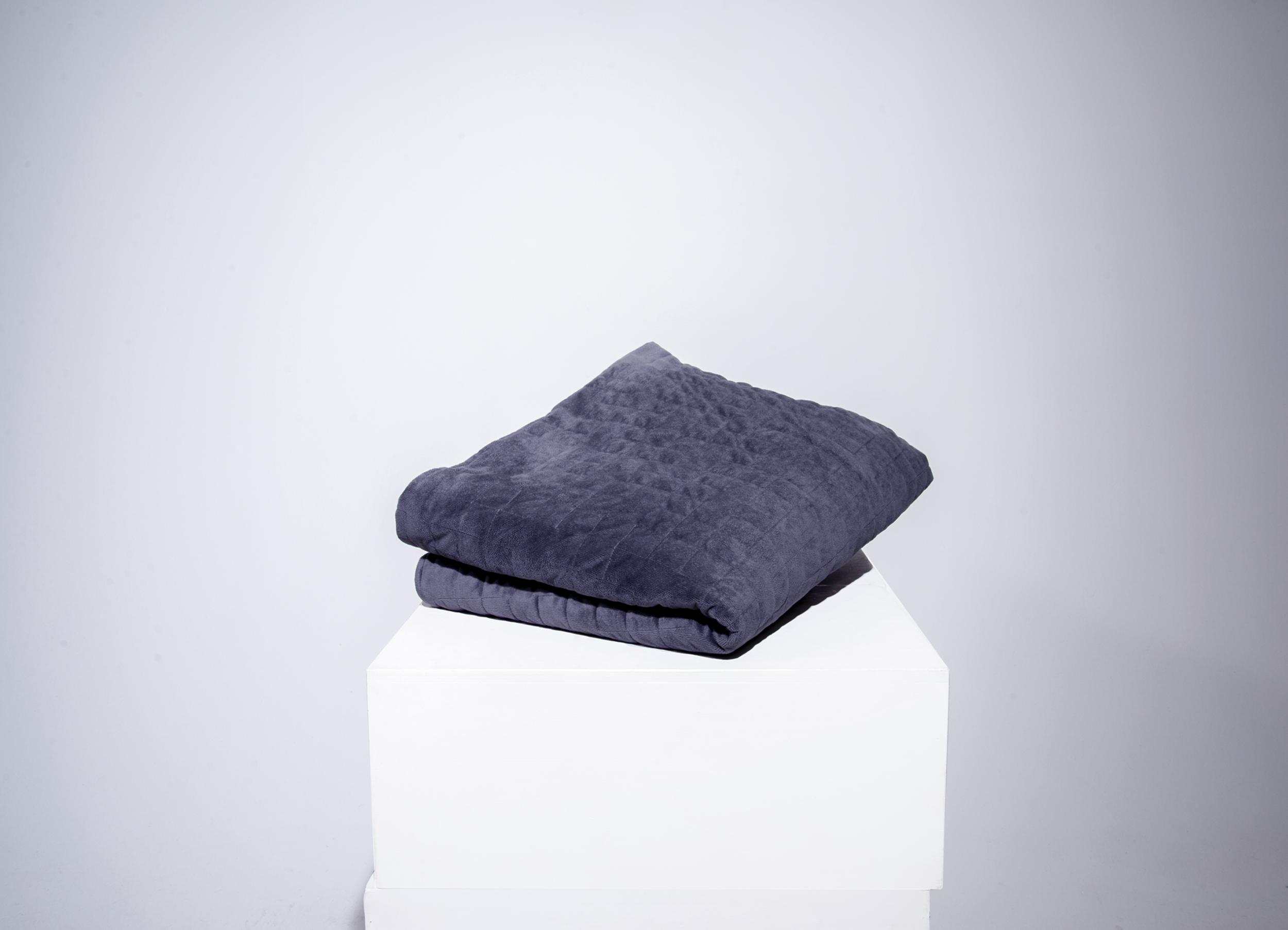 Qalm Weighted Blanket Lava Grey