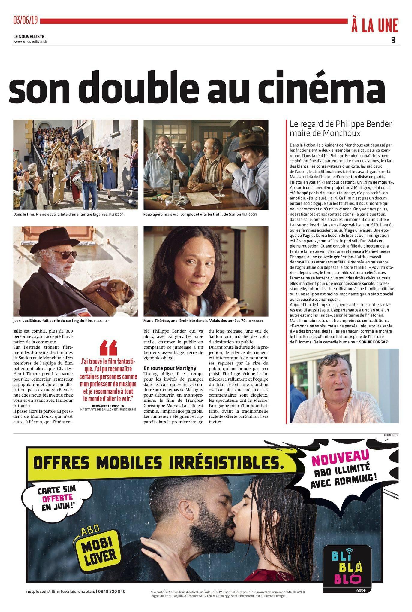 Le Nouvelliste - 3 Juin 2019 (Page 2)