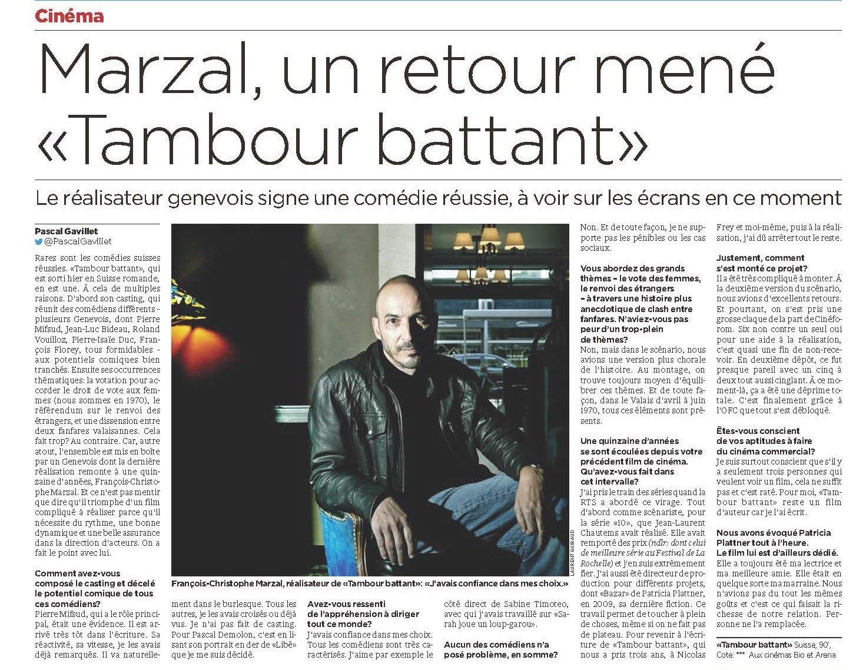 Tribune de Genève - 13 Juin 2019