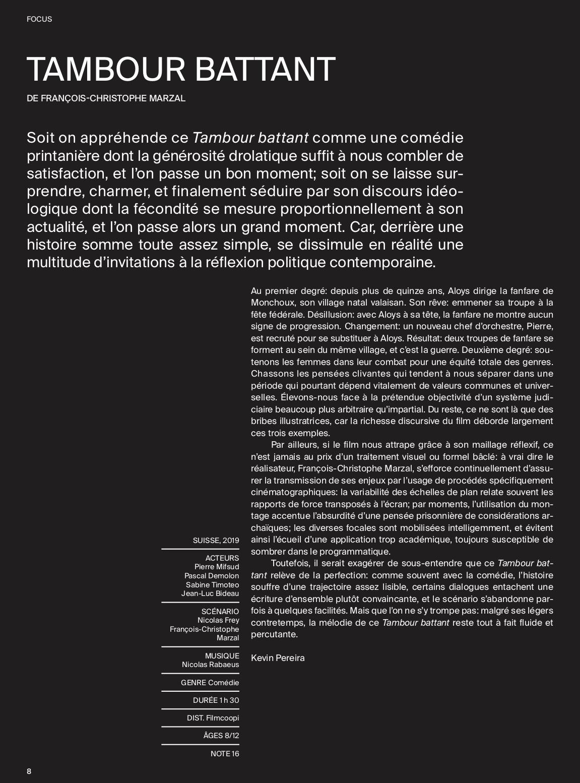 Ciné-feuilles - Juin 2019