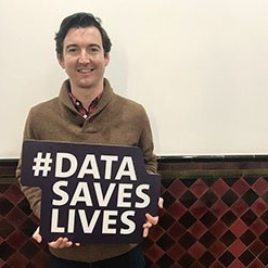 Stephen Melia, #DataSavesLives creator,  Health eResearch Centre  and  Connected Health Cities ,  The University of Manchester