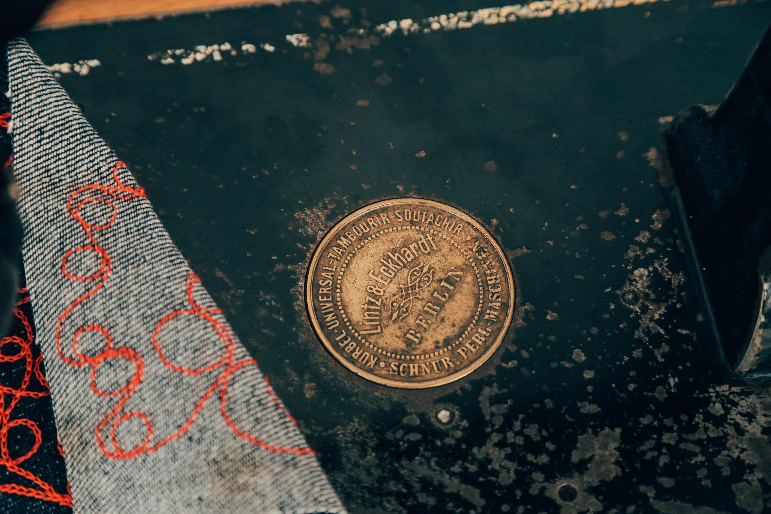 Lintz & Eckhardt 11 Cornely K vintage chainstitch embroidery machine 3
