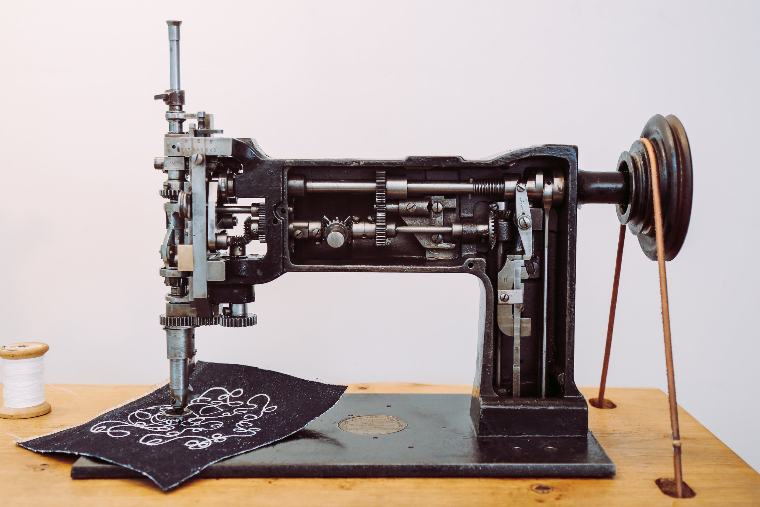Cornely L Chainstitch Machine Saintchains Crankembroidery Handcrank