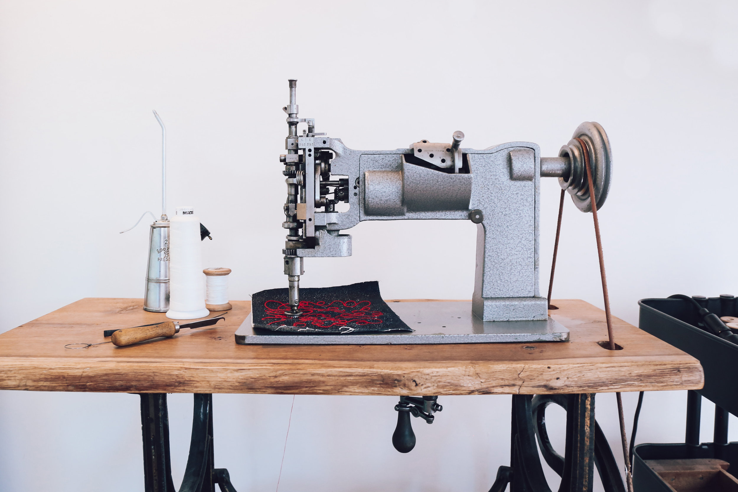 Chain Stitch Machine Cornely LG Saint Chains Chainstitch