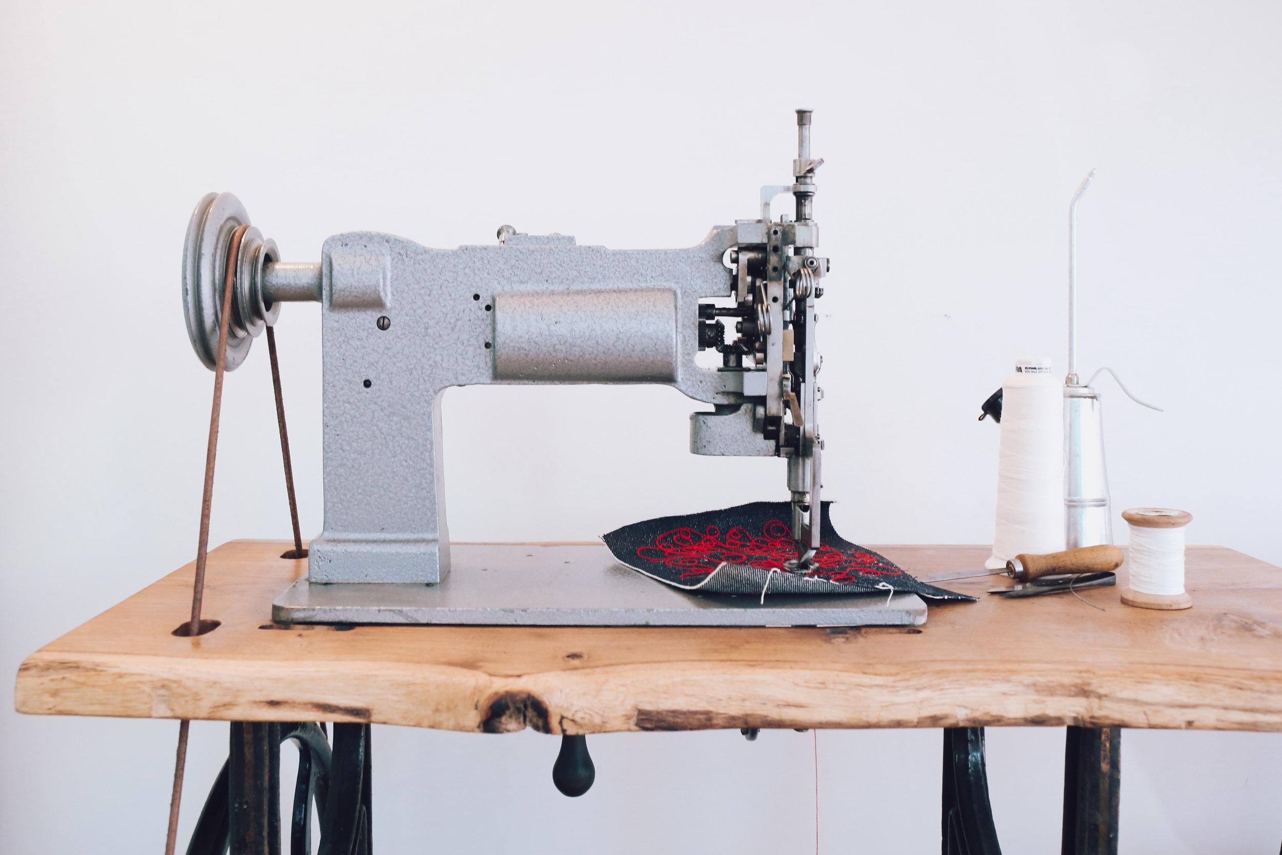 Chainstitch Machine Cornely LG Saint Chains Chain Stitch Vintage