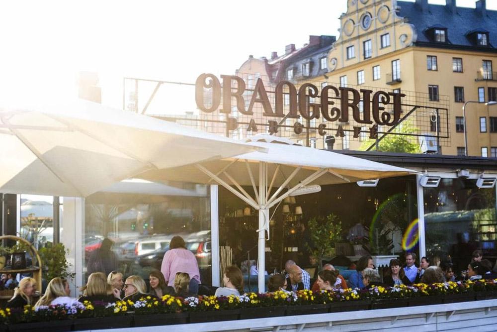 Orangeriet - Norr Mälarstrand Kajplats 464orangerietbar @ Instagram