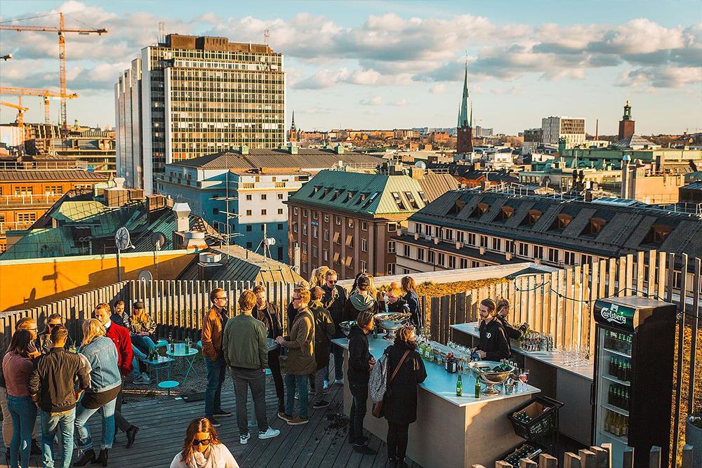 Takpark by Urban Deli - Sveavägen 44urbandelisveavagen @ Instagram