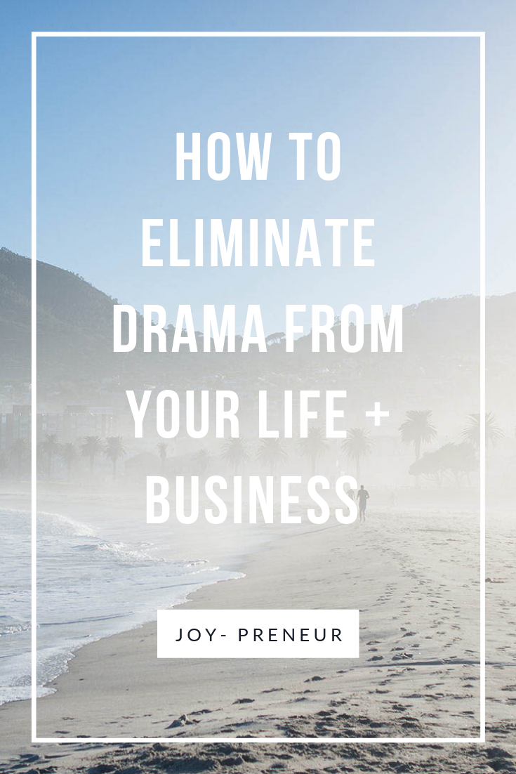 eliminate business drama