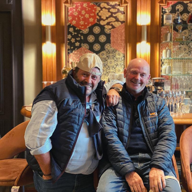 """Eric +jean-michel - """"Vicky et Isa vous aviez déjà mis la barre très haute pour la Corse, que dire des Alpes ? Merci à vous deux et rendez-vous en Normandie !"""""""