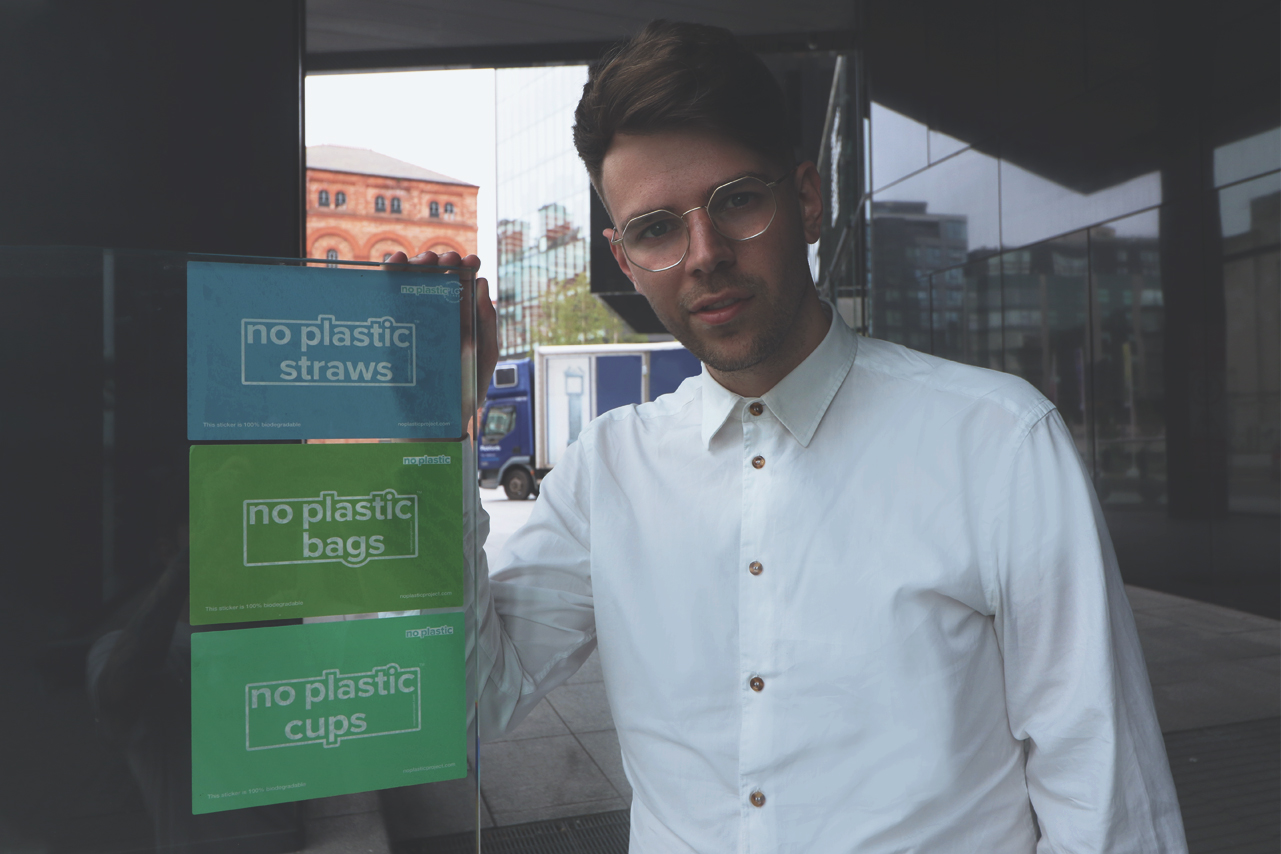Jack Rowley, Founder of No Plastic Project