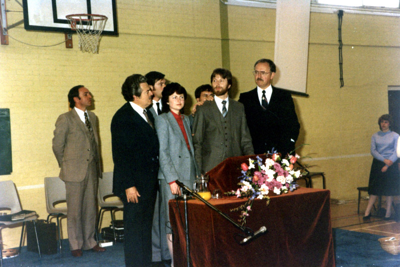 1981 - After Vic & Jenny had moved on to lead a church in Walsall and Bruce Blow (one of the full-time pastoral team in Basingstoke) had led the fellowship for a short while, Barney asked Dave & Chris Richards to move from Derbyshire and for Dave to take over the senior pastor's role. Under Dave & Chris' ministry continuing growth and development of the Church took place.Relationships were established with overseas churches, especially in Africa, while major pioneering initiatives at home took place. 1981 also saw the founding of The King's School - fulfilling the church's vision to educate its own children - and the setting up of the Pregnancy Crisis Centre - helping women facing a crisis pregnancy to find sympathetic help and advice.