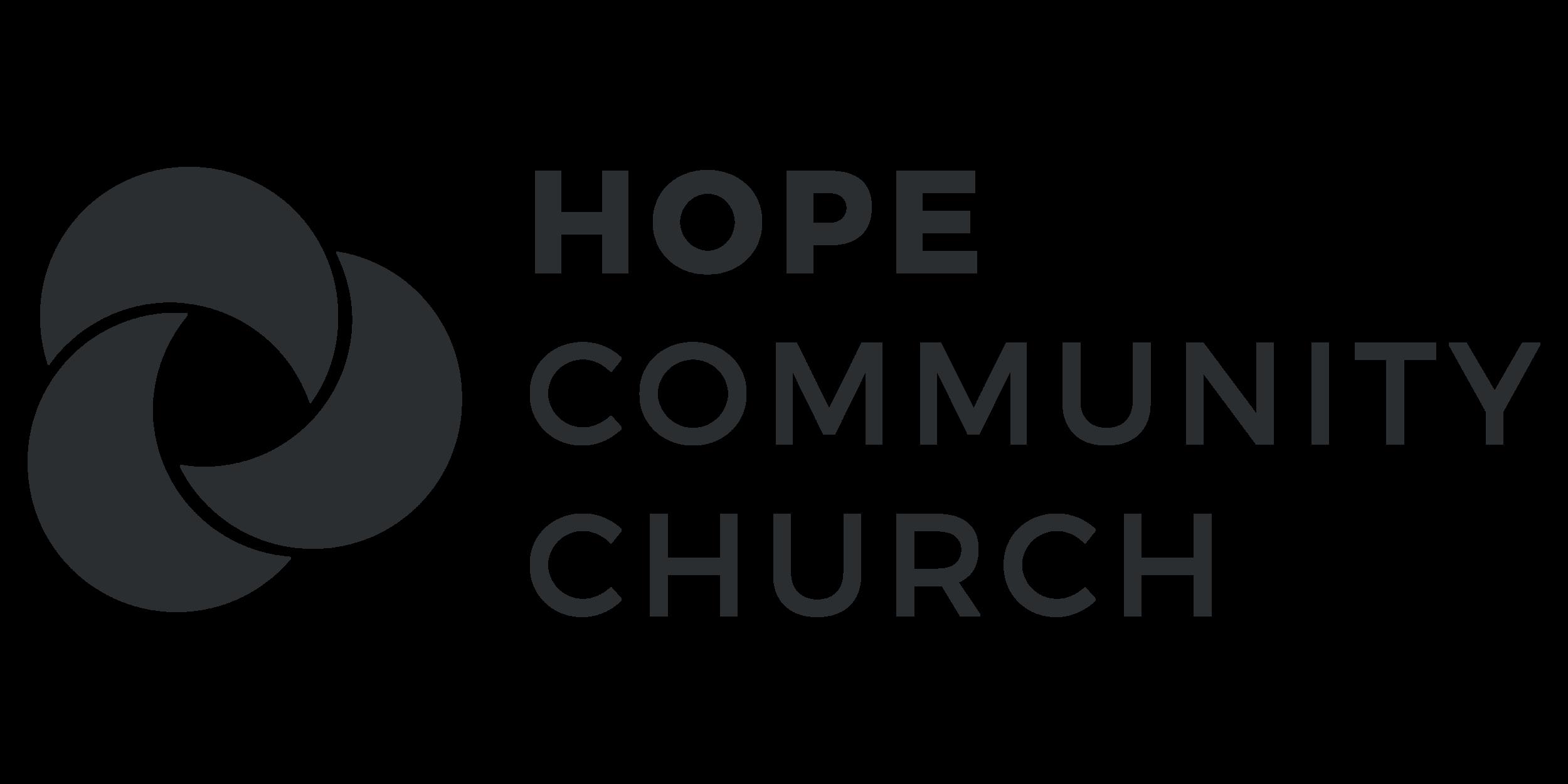Hope Community Church's logo - a church based in the centre of Basingstoke