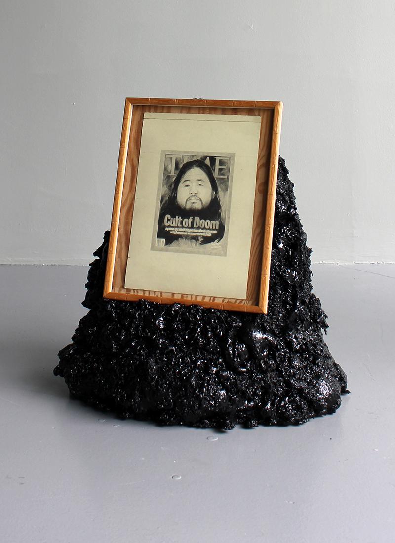 Cult of Doom | 2012 | Pencil on Paper | expanding foam