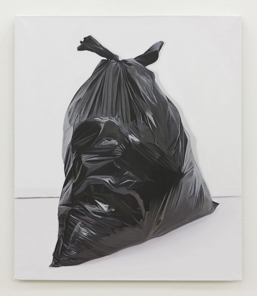 Black sack | 2017 | Oil on linen | 70 x 60 cm | Private Collection