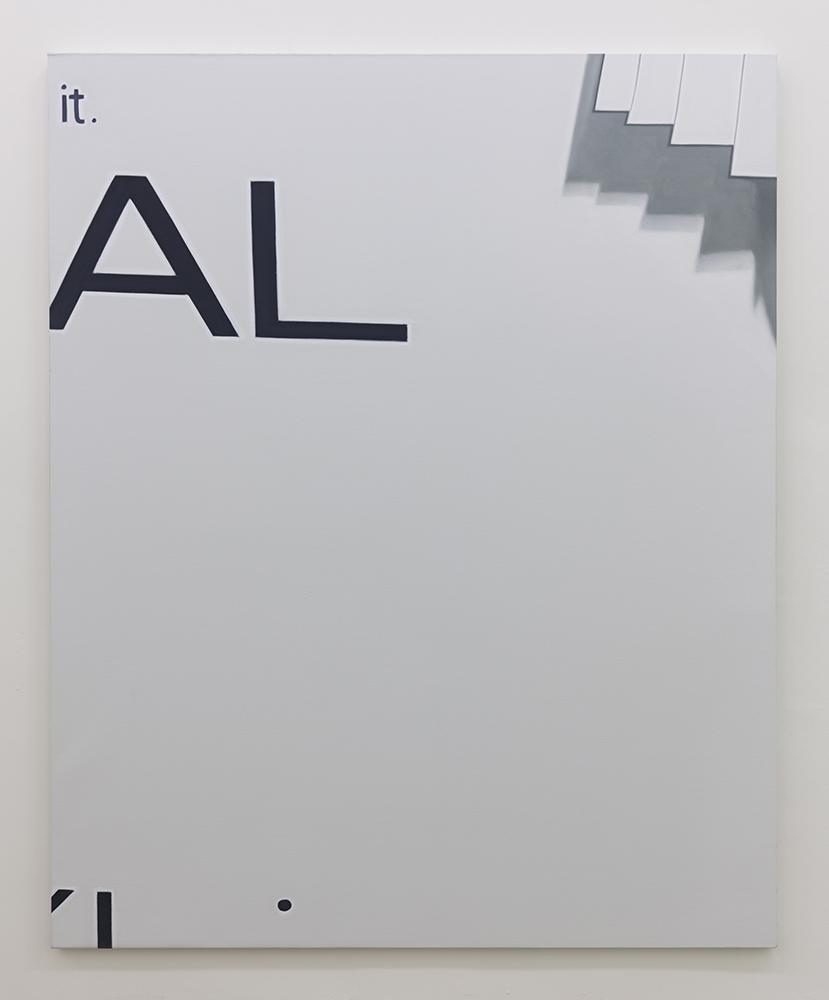 AL   oil on linen   160 x 130 cm   Available