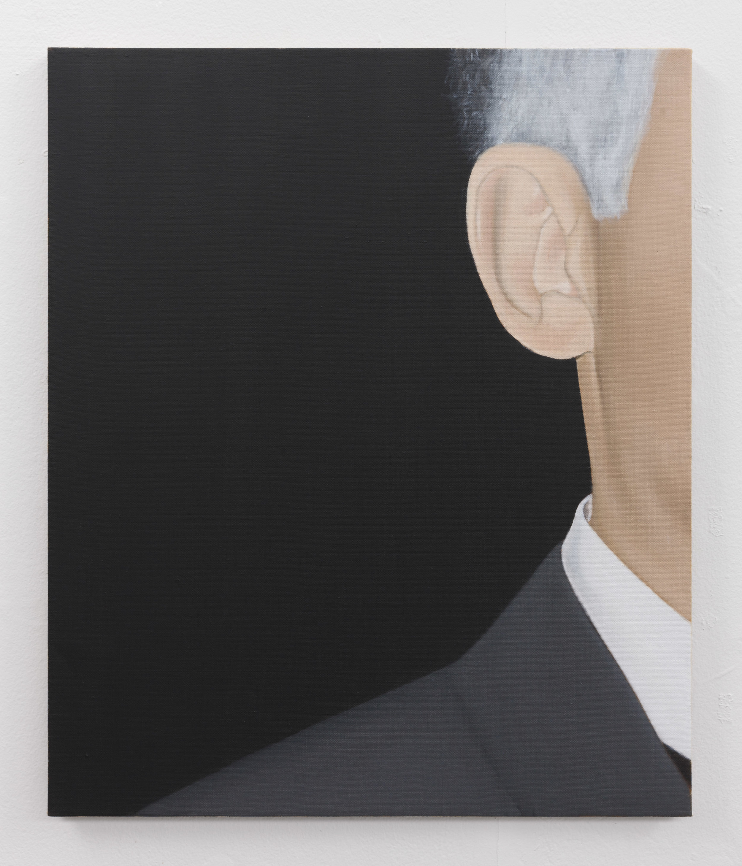 Ear | 2019 | Oil on linen | 60 x 50 cm | Photo Lee Welch | Shortlisted The RHA Hennessy Craig Award