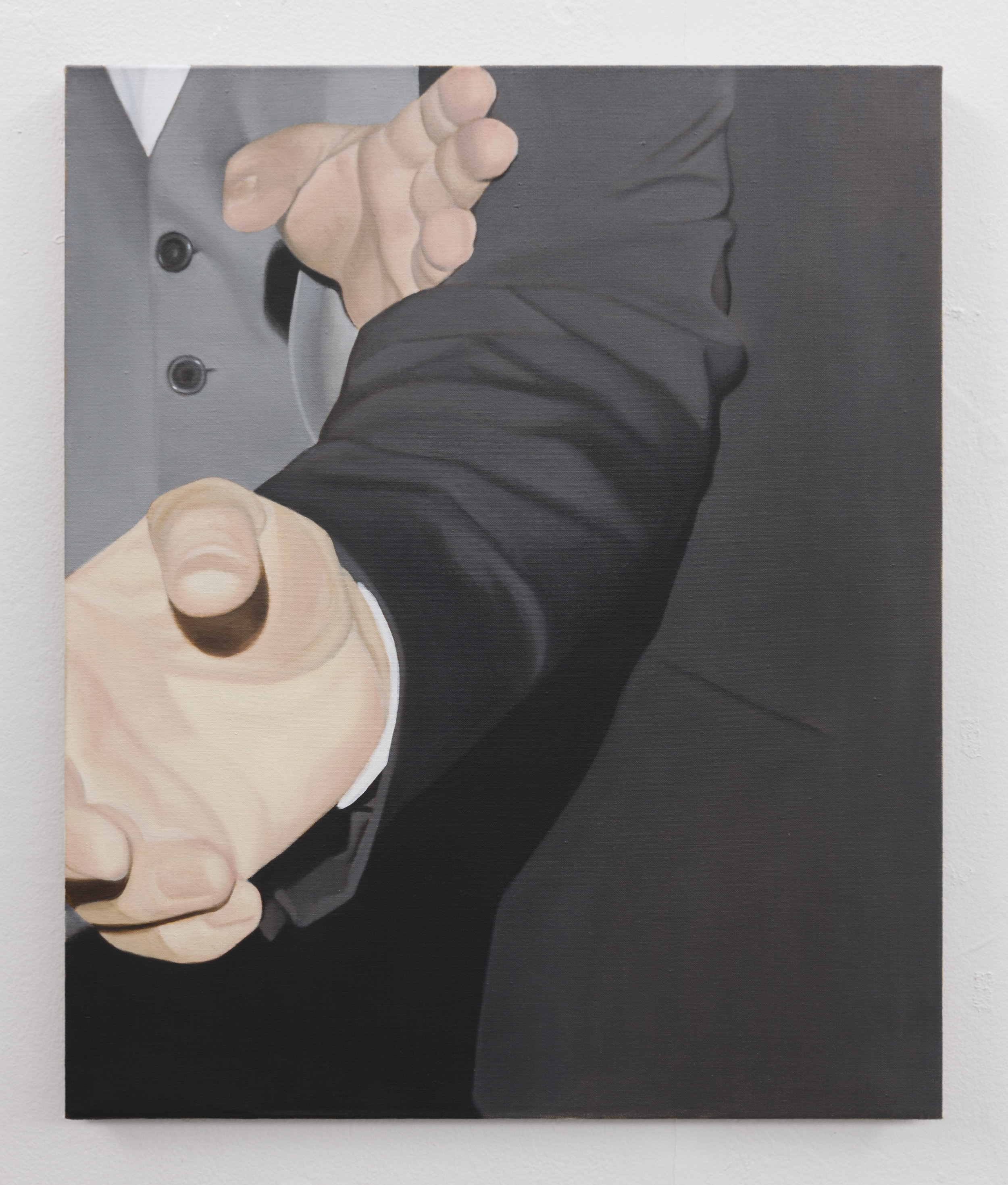 Fingers | 2019 | Oil on linen | 60 x 50 cm | Photo Lee Welch | Shortlisted The RHA Hennessy Craig Award