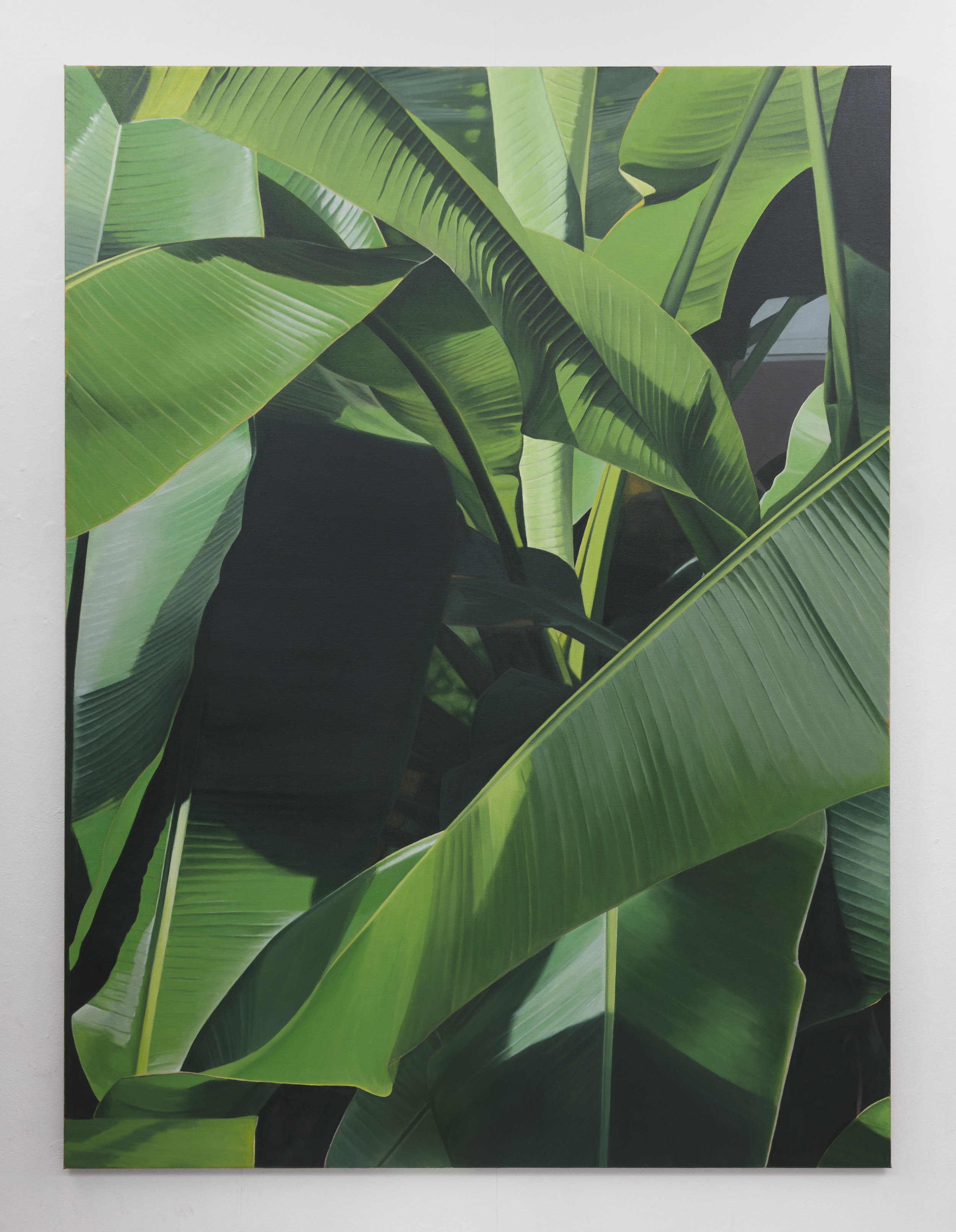 Banana II | 2019 | Oil on linen | 160 x 120 cm | Photo by Lee Welch | Shortlisted The RHA Hennessy Craig Award