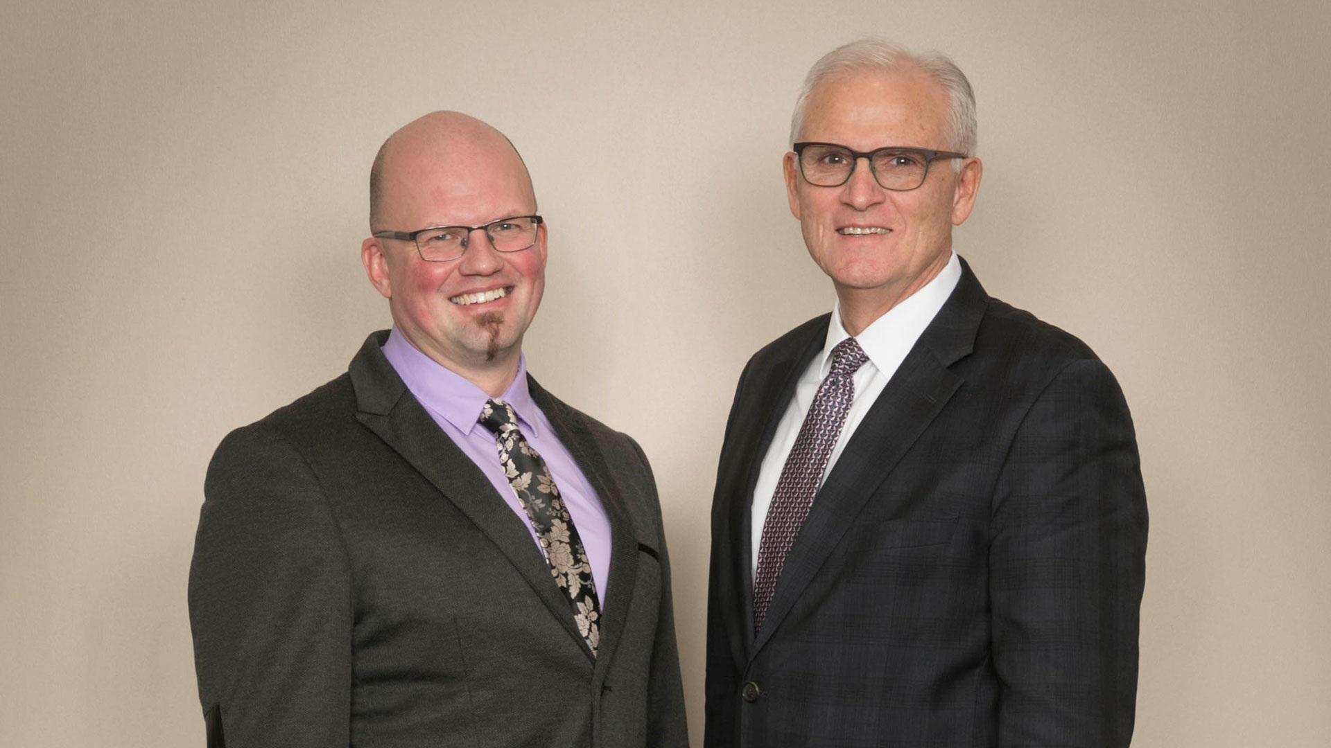 Stan Dyjur, left, and Greg Eberhart